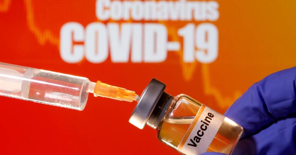Placeholder - loading - Foto de ilustração mostra frasco com rõtulo de vacina contra Covid-19 10/04/2020 REUTERS/Dado Ruvic