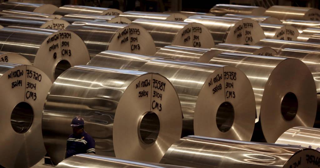 Placeholder - loading - Fábrica de alumínio em Pindamonhangaba, SP 19/06/2015 REUTERS/Paulo Whitaker