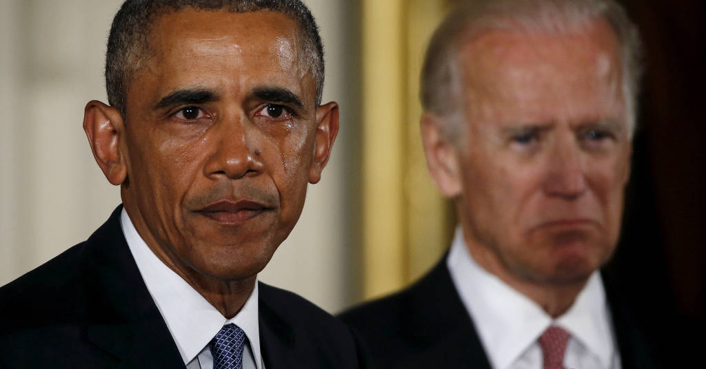 Placeholder - loading - Barack Obama e Joe Biden 05/01/2016 REUTERS/Carlos Barria