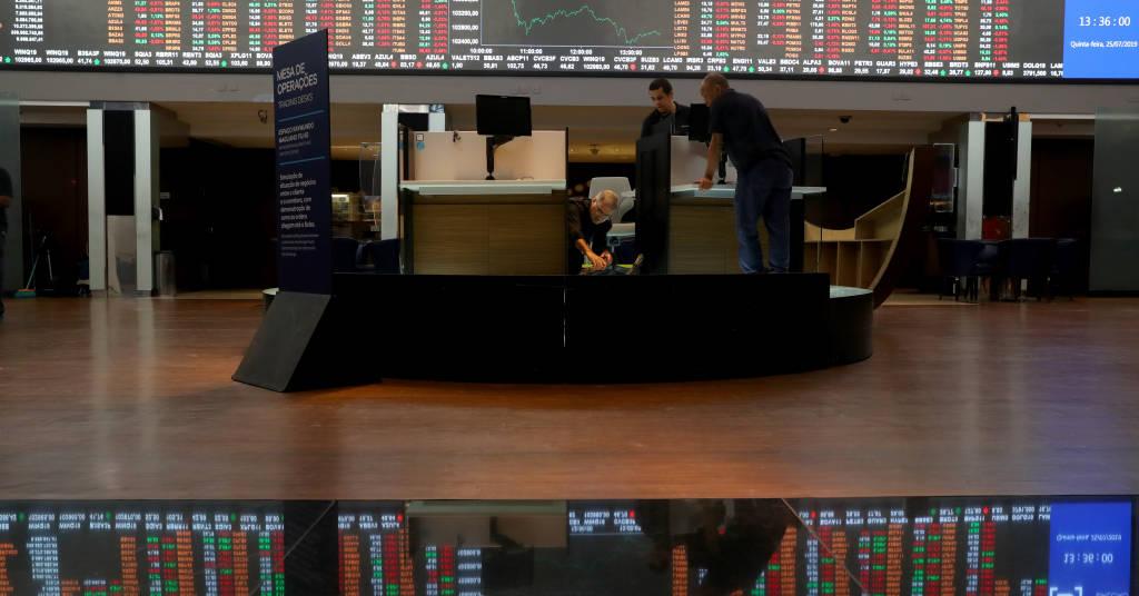 Placeholder - loading - Bolsa de valores de São Paulo  25/07/2019 REUTERS/Amanda Perobelli