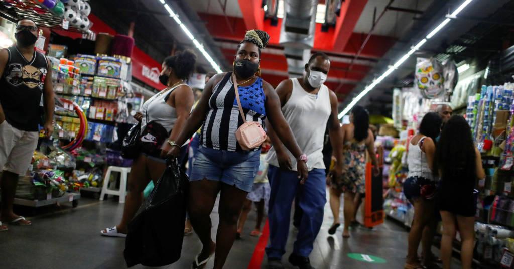 Placeholder - loading - Supermercado no Rio de Janeiro  REUTERS/Pilar Olivares