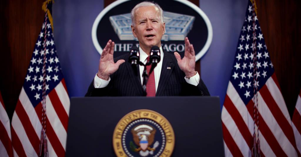 Placeholder - loading - Joe Biden visita o Pentágono em Arlington REUTERS/Carlos Barria