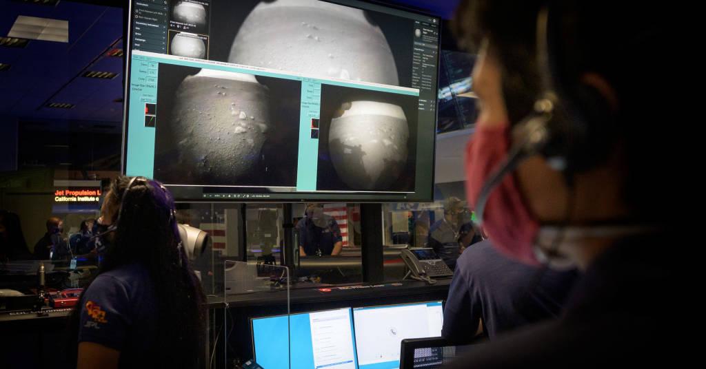 Placeholder - loading - (NASA/Bill Ingalls/Handout via REUTERS