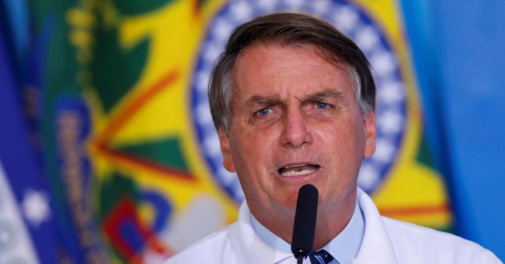 Placeholder - loading - Presidente Jair Bolsonaro fala em cerimônia no Palácio do Planalto, Brasília, Brasil 12/01/2021. REUTERS/Adriano Machado/Foto de arquivo