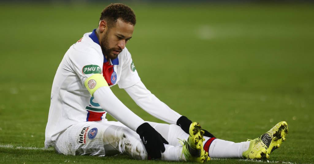 Placeholder - loading - Neymar em partida do PSG contra o Caen na Copa da França 10/02/2021 REUTERS/Stephane Mahe/Files