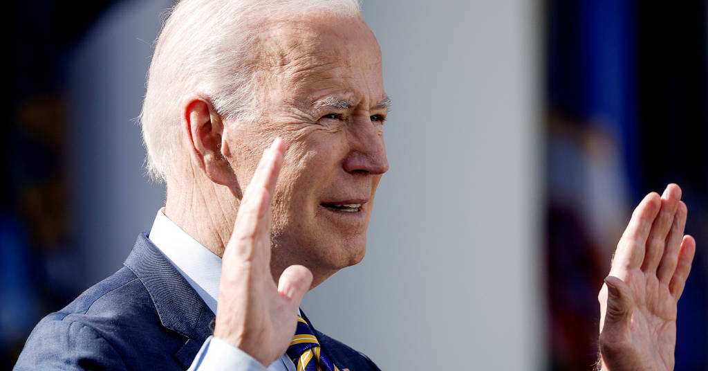 Placeholder - loading - Presidente dos EUA, Joe Biden, em Washington 12/03/2021 REUTERS/Tom Brenner