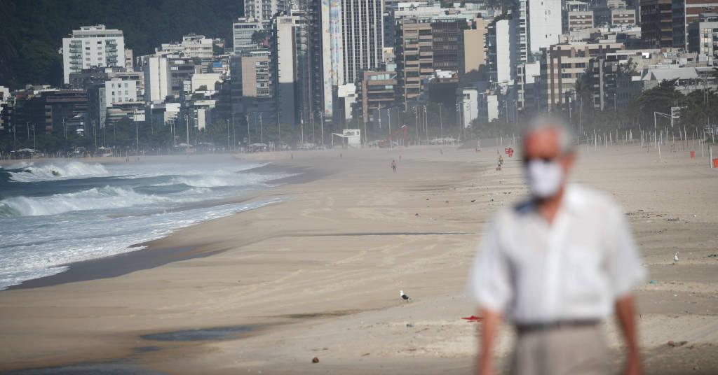 Placeholder - loading - Praia de Ipanema durante pandemia de Covid-19 no Rio de Janeiro 20/03/2021 REUTERS/Ricardo Moraes