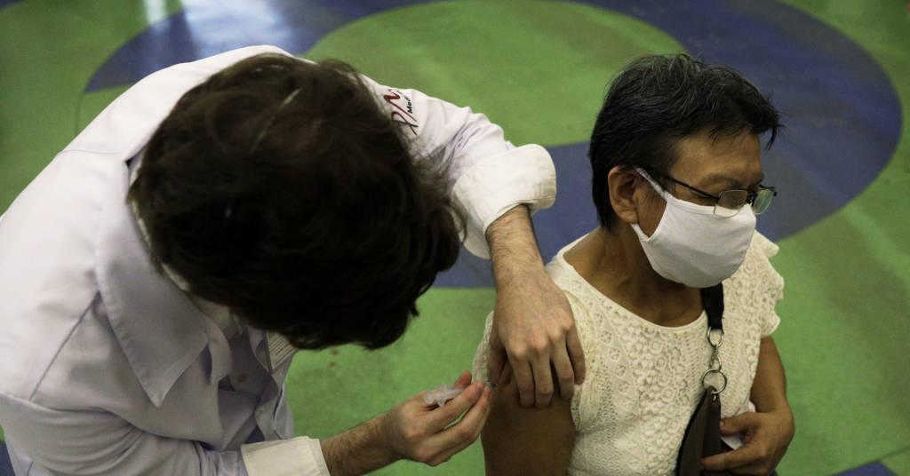 Placeholder - loading - Vacinação no Rio de Janeiro  18/3/2021   REUTERS/Ricardo Moraes
