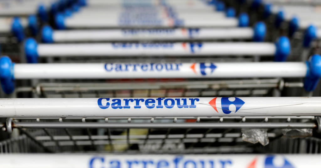 Placeholder - loading - Carrefour em São Paulo 18/7/2017 REUTERS/Paulo Whitaker/File Photo