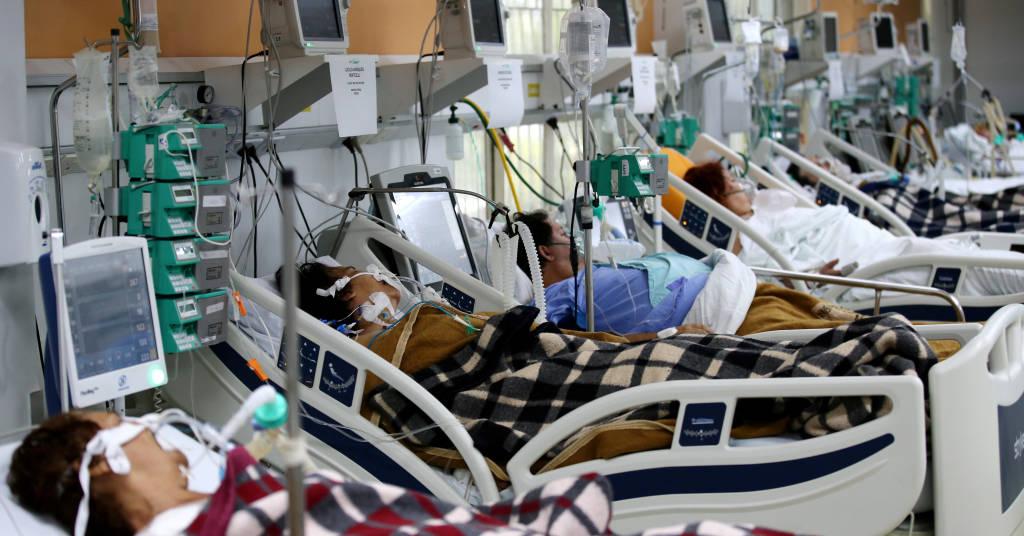 Placeholder - loading - Pacientes  em sala de emergência de hospital em Porto Alegre superlotada por causa de pandemia de Covid-19 11/03/2021 REUTERS/Diego Vara
