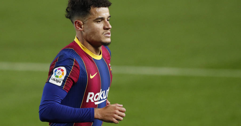 Placeholder - loading - Philippe Coutinho, do Barcelona 13/12/2020 REUTERS/Albert Gea