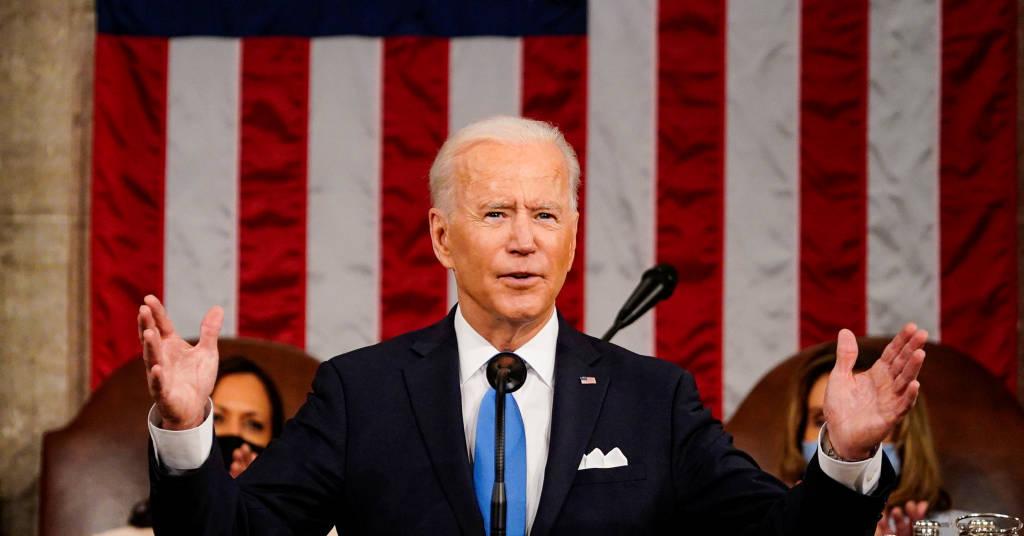 Placeholder - loading - Presidente dos EUA, Joe Biden, discursa ao Congresso do país 28/04/2021 Melina Mara/Pool via REUTERS