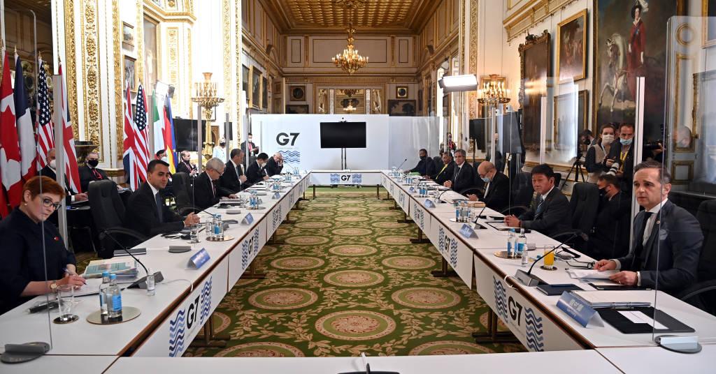 Placeholder - loading - Reunião entre ministros das Relações Exteriores do G7 em Londres 05/05/2021 Ben Stansall/Pool via REUTERS