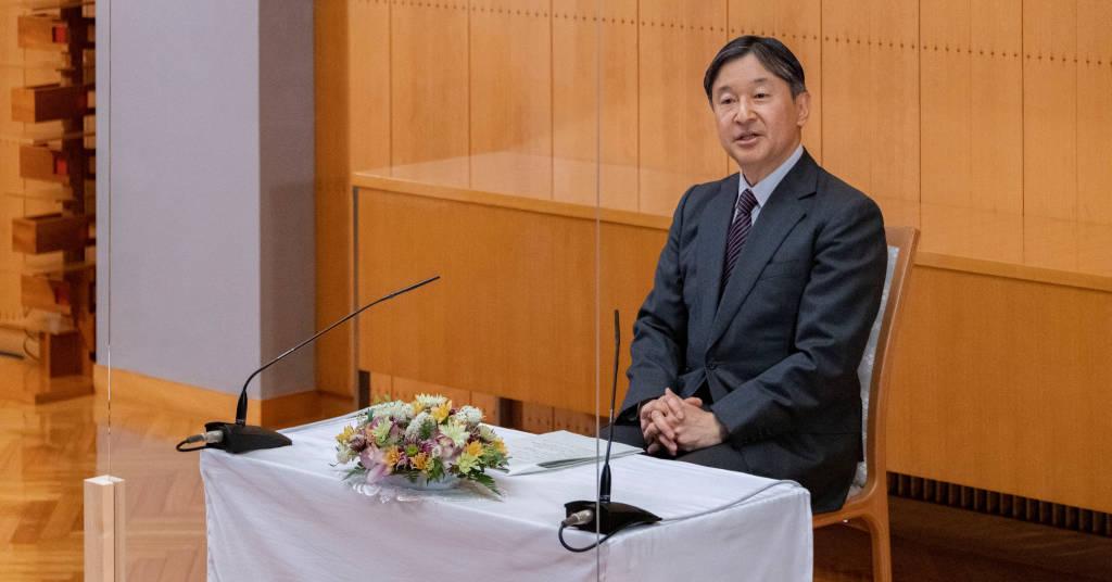 Placeholder - loading - Imperador Naruhito, do Japão, em Tóquio 19/02/2021 Agência da Casa Imperial do Japão/Divulgação via REUTERS
