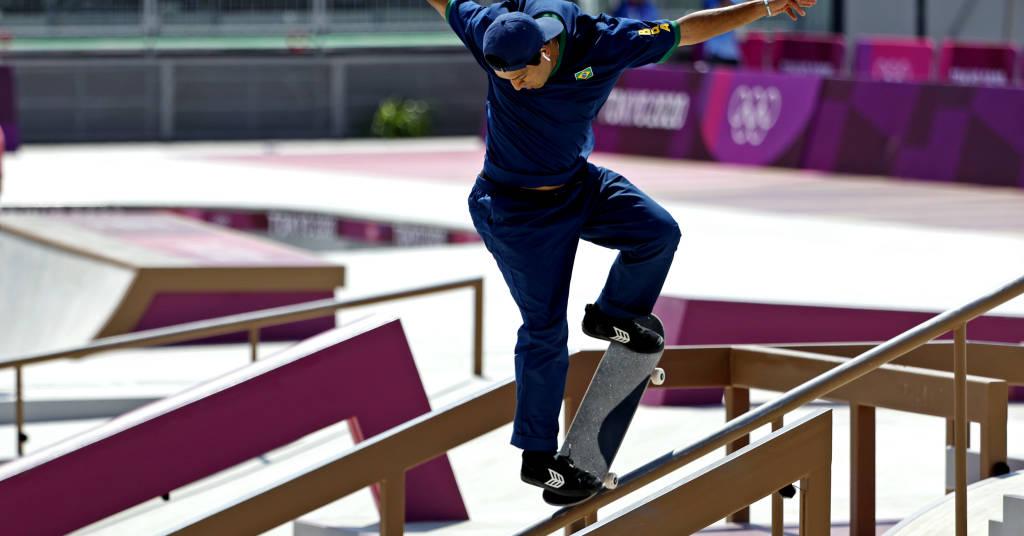 Placeholder - loading - Kelvin Hoefler na disputa do skate em Tóquio 2020 25/07/2020 Geoff Burke-USA TODAY Network