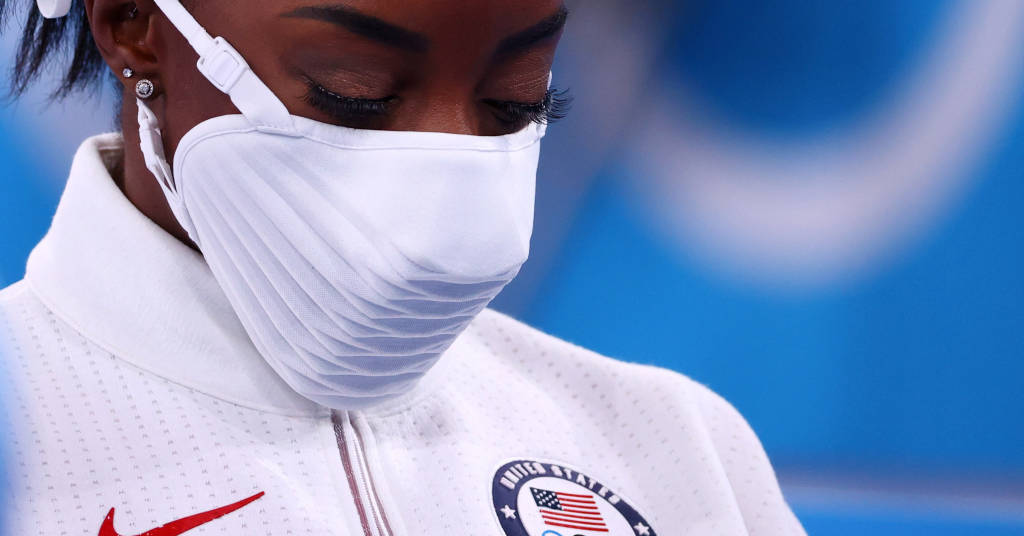 Placeholder - loading - Simone Biles 27/07/2021 REUTERS/Lindsey Wasson