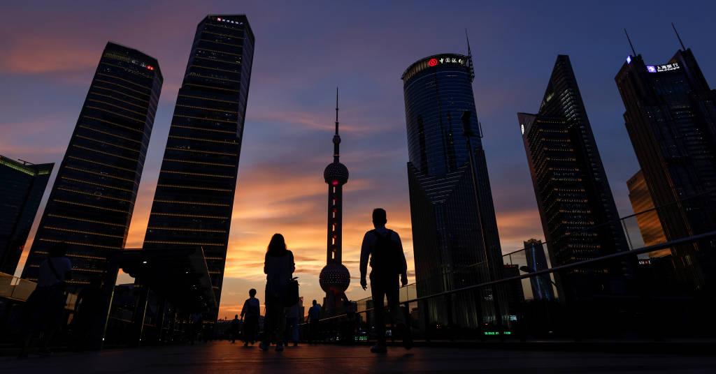 Placeholder - loading - Distrito financeiro de Lujiazui em Xangai, China 13/07/2021. P REUTERS/Aly Song