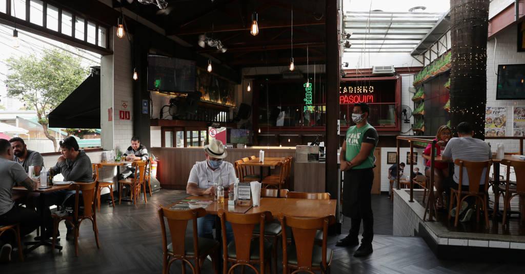 Placeholder - loading - Bar em São Paulo 06/07/2020 REUTERS/Amanda Perobelli
