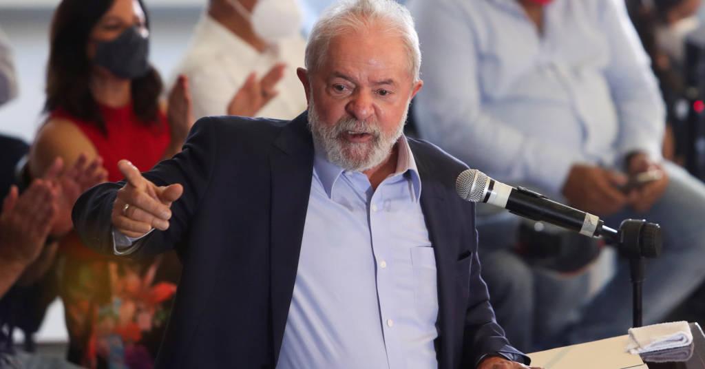 Placeholder - loading - Ex-presidente Luiz Inácio Lula da Silva durante entrevista coletiva em São Bernardo do Campo 10/03/2021 REUTERS/Amanda Perobelli