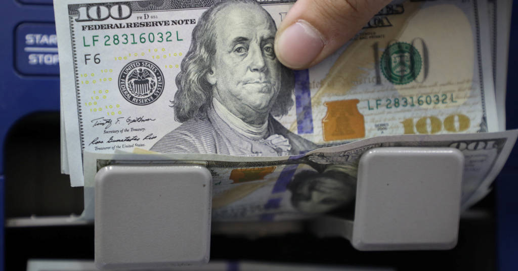 Placeholder - loading - Dólar tem pouca alteração com temor fiscal compensando expectativa de juros mais altos  23/03/2021 REUTERS/Mohamed Azakir