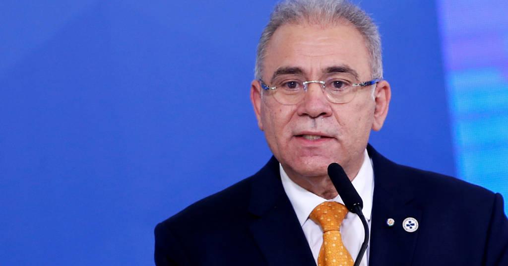 Placeholder - loading - Ministro da Saúde, Marcelo Queiroga, durante cerimônia no Palácio do Planalto 05/08/2021 REUTERS/Adriano Machado