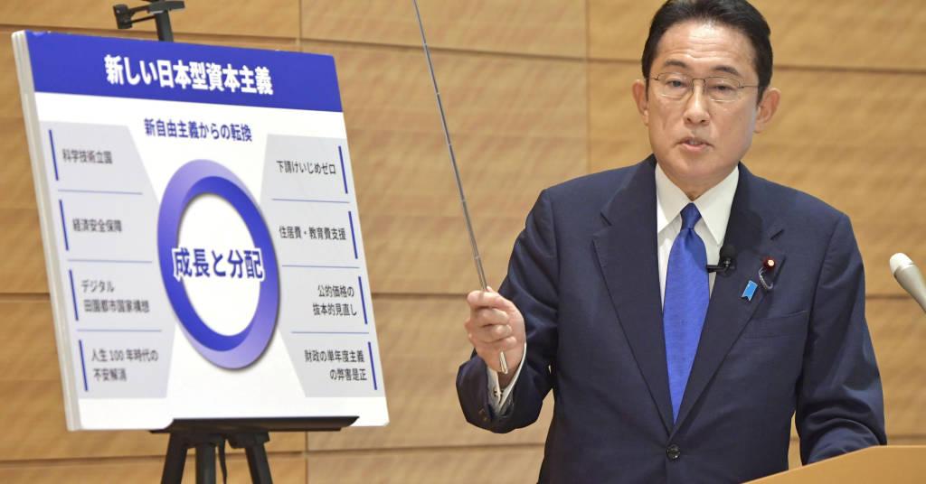 Placeholder - loading - Fumio Kishida anuncia sua proposta de política econômica para o Japão em Tóquio 09/09/2021 Kyodo/via REUTERS