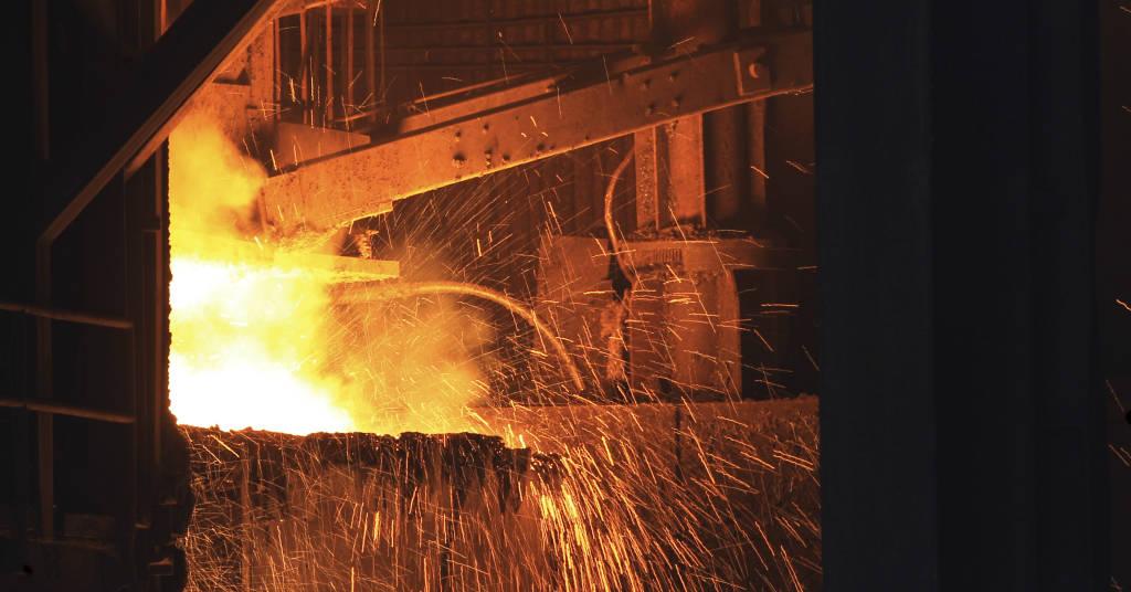 Placeholder - loading - Vista interna de usina da siderúrgica Gerdau  30/07/2013 REUTERS/David McNew