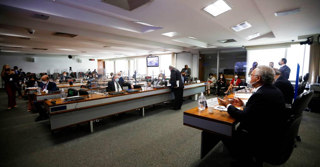 Placeholder - loading - Plenário da CPI da Covid no Senado 16/09/2021 REUTERS/Adriano Machado