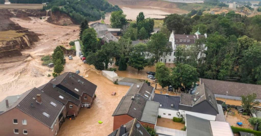 Placeholder - loading - Enchente em Erftstadt-Blessem, na Alemanha 16/7/2021    REUTERS/Rhein-Erft-Kreis
