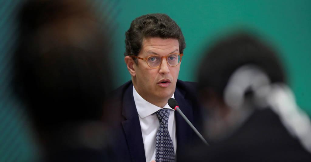 Placeholder - loading - Ministro do Meio Ambiente, Ricardo Salles, April 22, 2021. REUTERS/Ueslei Marcelino
