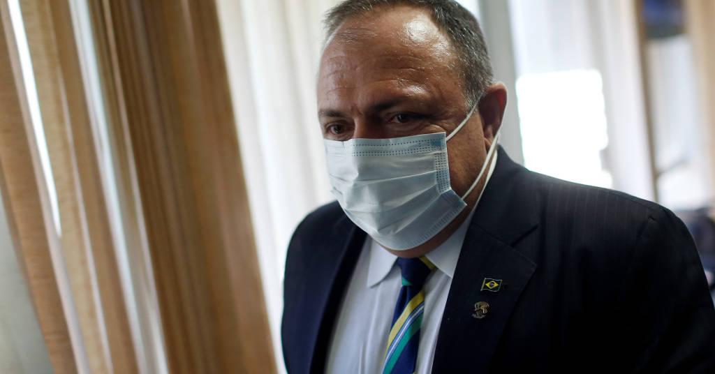 Placeholder - loading - Ministro Pazuello durante CPI da Covid  19/5/2021 REUTERS/Adriano Machado