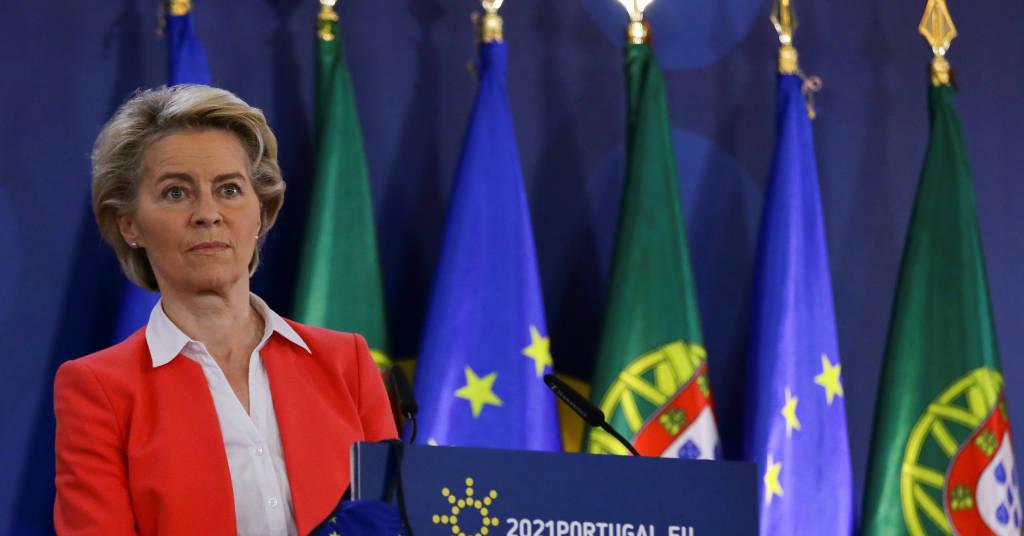 Placeholder - loading - Chefe da Comissão da UE, Ursula von der Leyen 08/05/2021 REUTERS/Violeta Santos Moura