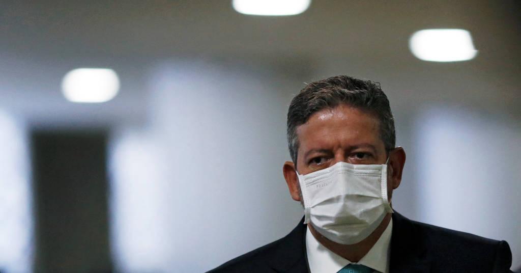 Placeholder - loading - Presidente da Câmara, Artur Lira, no Congresso  2/2/ 2021 REUTERS/Adriano Machado