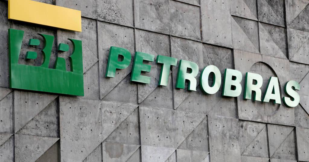 Placeholder - loading - Logo da empresa de petróleo comandada pelo governo do Brasil, no Rio de Janeiro.  16/10/2019 REUTERS/Sergio Moraes
