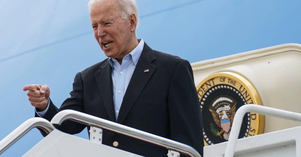 Placeholder - loading - Presidente norte-americano, Joe Biden, na Base Aérea de Andrews, em Maryland, EUA, embarcando no Força Aérea Um para participar da Cúpula do G7 na Inglaterra 09/06/2021 REUTERS/Kevin Lamarque