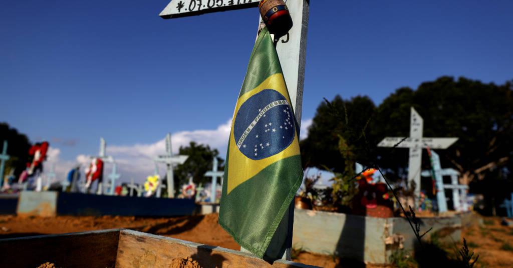 Placeholder - loading - Túmulo de vítima da Covid-19 em cemitério de Manaus (AM)  20/05/2021 REUTERS/Bruno Kelly