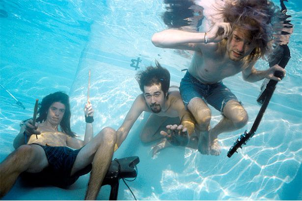 Imagens exclusivas do Nirvana para álbum Nevermind são disponibilizadas Background