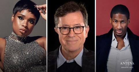 Placeholder - loading - Jennifer Hudson apresenta clássico com Stephen Colbert e Jon Batiste