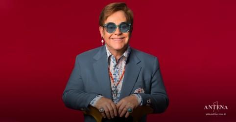 Placeholder - loading - Imagem da notícia Elton John é o primeiro artista britânico a ser top 10 em seis décadas