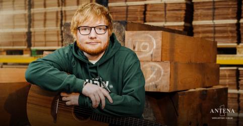 Placeholder - loading - Imagem da notícia Ed Sheeran lança prévia de clipe