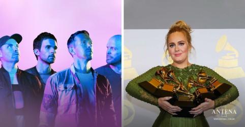 Placeholder - loading - Imagem da notícia Adele e Coldplay estão entre os lançamentos mais ouvidos da semana