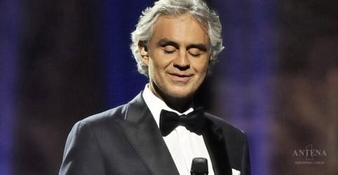 Andrea Bocelli fará show no Brasil em outubro