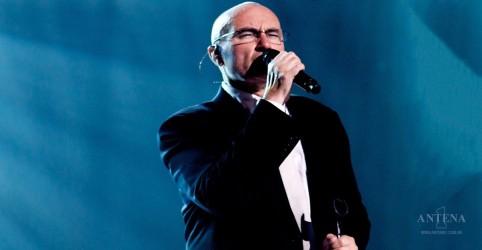 Após seis anos, Phil Collins volta aos palcos