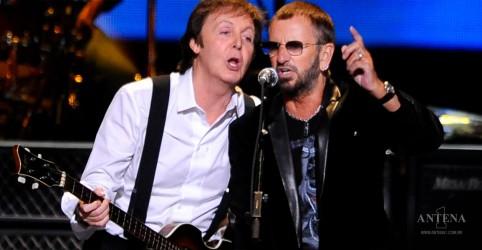 Placeholder - loading - Ringo Starr e Paul McCartney fazem parceria em faixa inédita