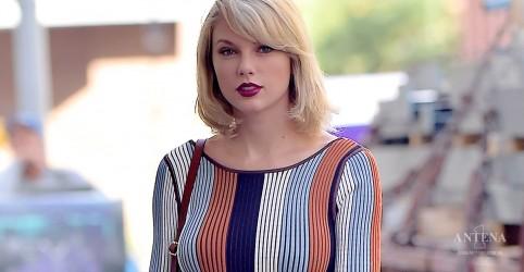 Taylor Swift estreia no topo da parada britânica