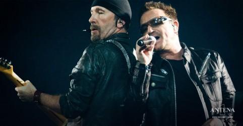 U2 acerta show extra em São Paulo