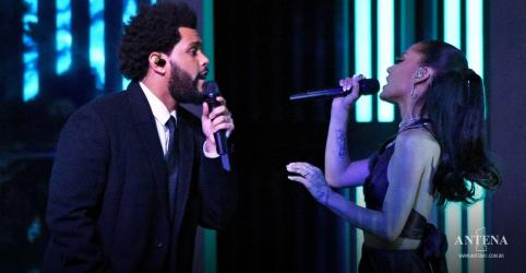 Placeholder - loading - The Weeknd e Ariana Grande realizam performance ao vivo de faixa