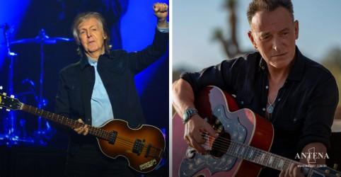 Placeholder - loading - Imagem da notícia Bruce Springsteen e Paul McCartney arrecadam valor milionário para caridade