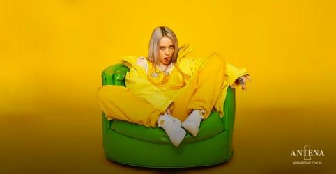 Placeholder - loading - Imagem da notícia Billie Eilish estreia faixas Happier Than Ever no cenário de Life Is Beautiful