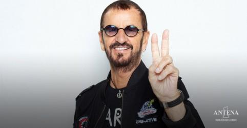 Placeholder - loading - Imagem da notícia Aos 81 anos, Ringo Starr lança novo EP com quatro músicas inéditas